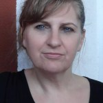 Christine, la mère de la Famille Nomade