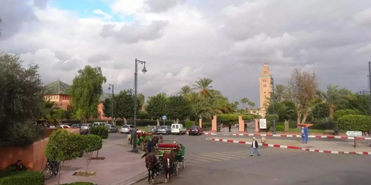 Marrakech en novembre