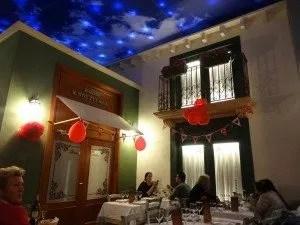 "Décor du restaurant ""CHE  à Zenia Boulevard"""