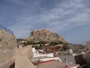 Une vue sur Alicante