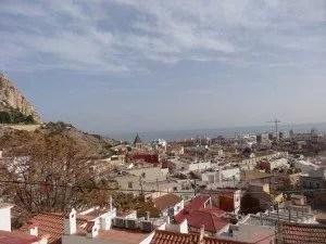 Une vue imprenable sur Alicante