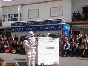 Costume pneu michelin pour le carnaal de Chipiona 2014