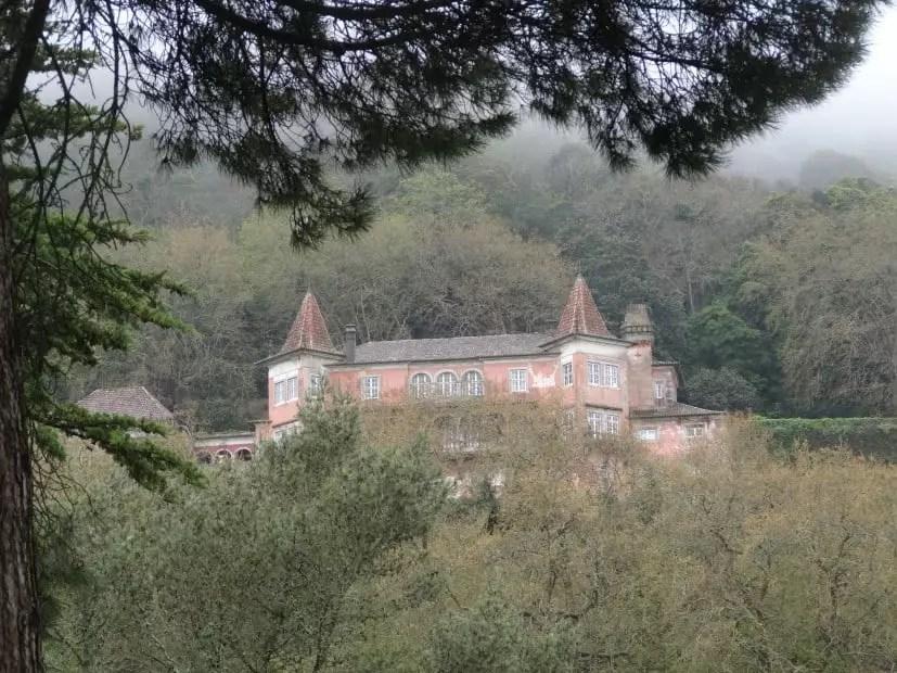 Sintra et son chateau avec la famille nomade digitale en avril 2014