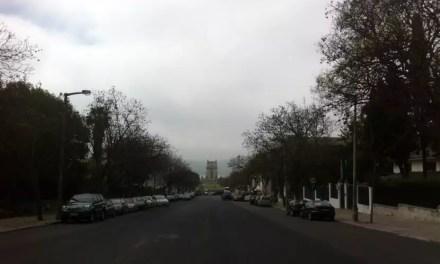 Lisbonne- Embouteillages à la tour de Belem