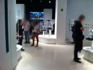 Famille Nomade à l'Exposition 25 ans Pixar Madrid
