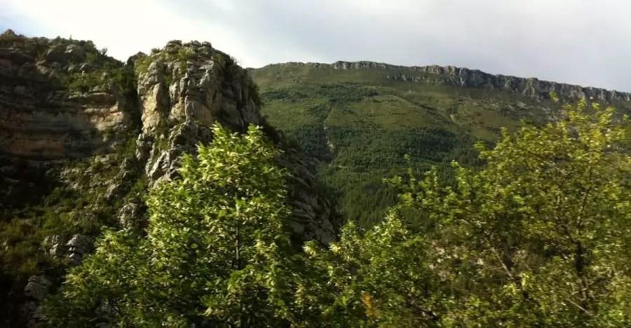 Les Alpes Maritimes :  découverte de Briançonnet