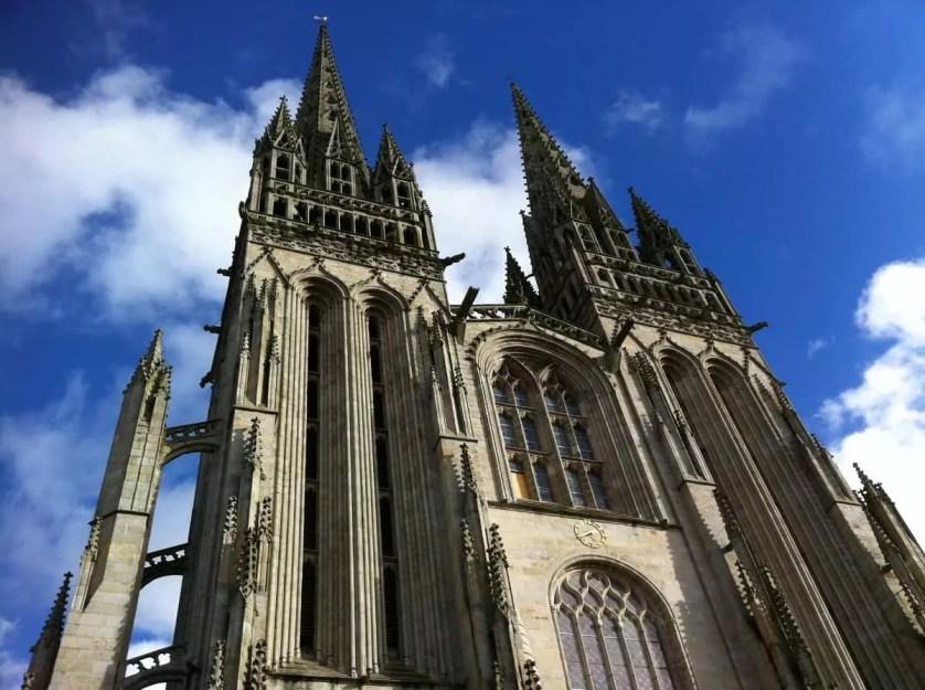 cathédrale de Quimper-Famille Nomade Digitale