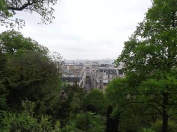 Vue sur Paris du Sacré Coeur de Montmartre