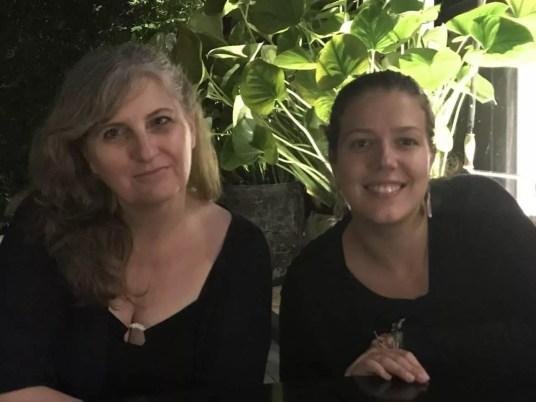 Christine avec Lucie du blog Voyages Et Vagabondages