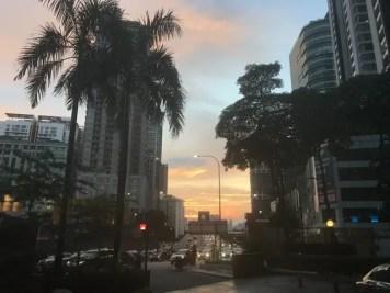Kuala Lumpur de nuit- famille nomade digitale