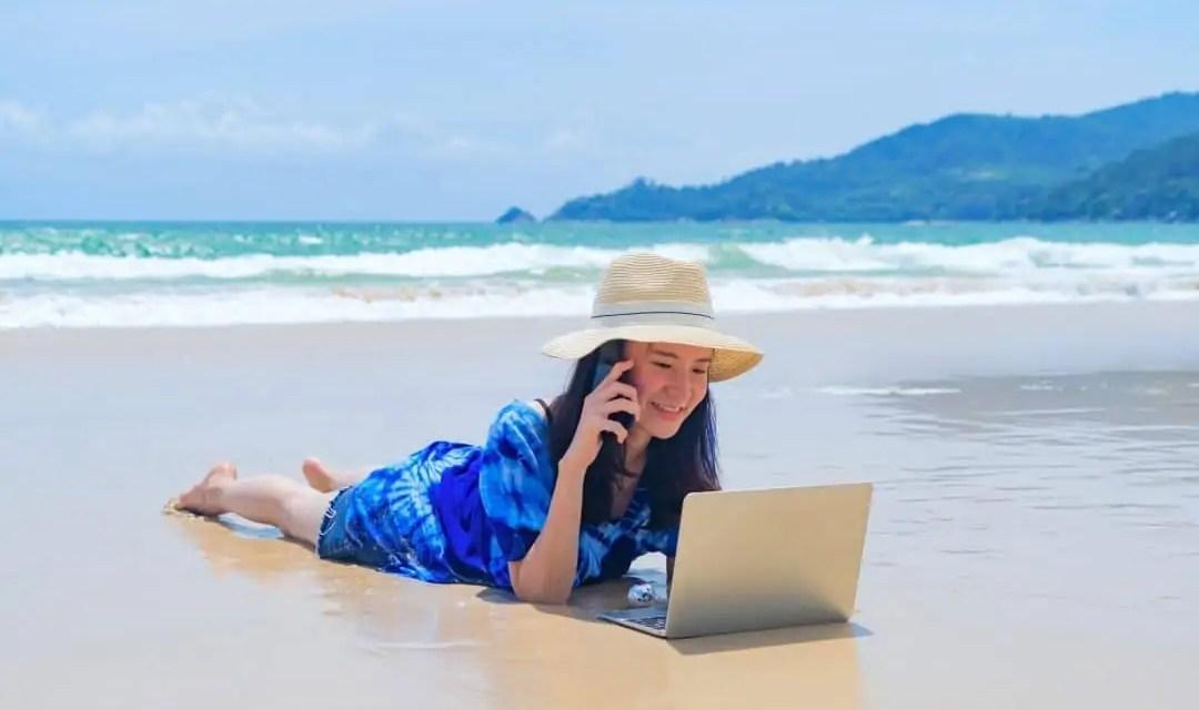 Le Nomade Digital toujours en vacances ? Mythe ou réalité ?