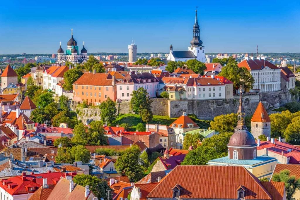 Visa digital nomad Estonie - Tallinn