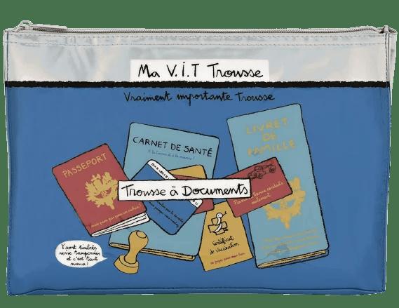 pochette pour ranger ses documents d evoyage - digital nomad equipement