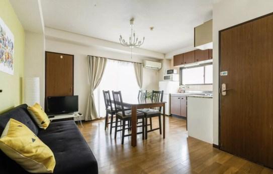 notre airbnb a ossaka - japon