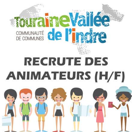 Touraine Vallée de l'Indre recrute des animateurs