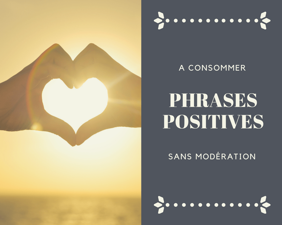 phrases positives