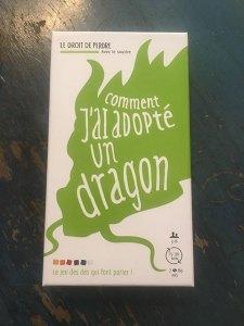 Comment j'ai adopté un dragon la boite du jeu