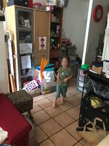 Junior en action