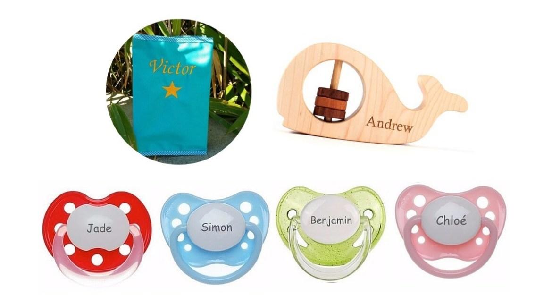 cadeaux personnalisés bébé