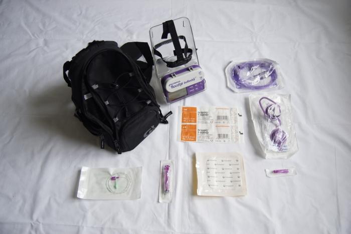 matériel pour sonde naso gastrique bébé