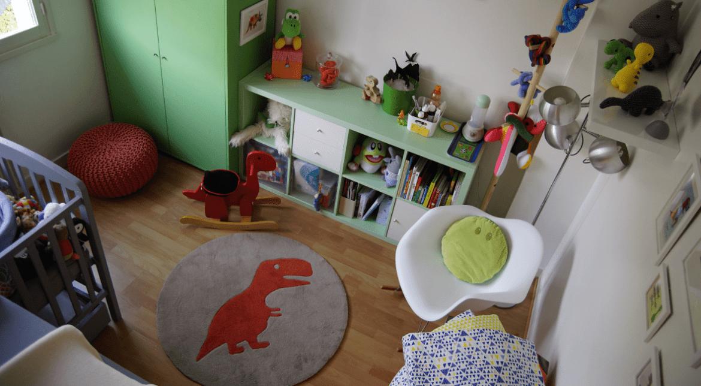 décoration dinosaure pour la chambre de bébé