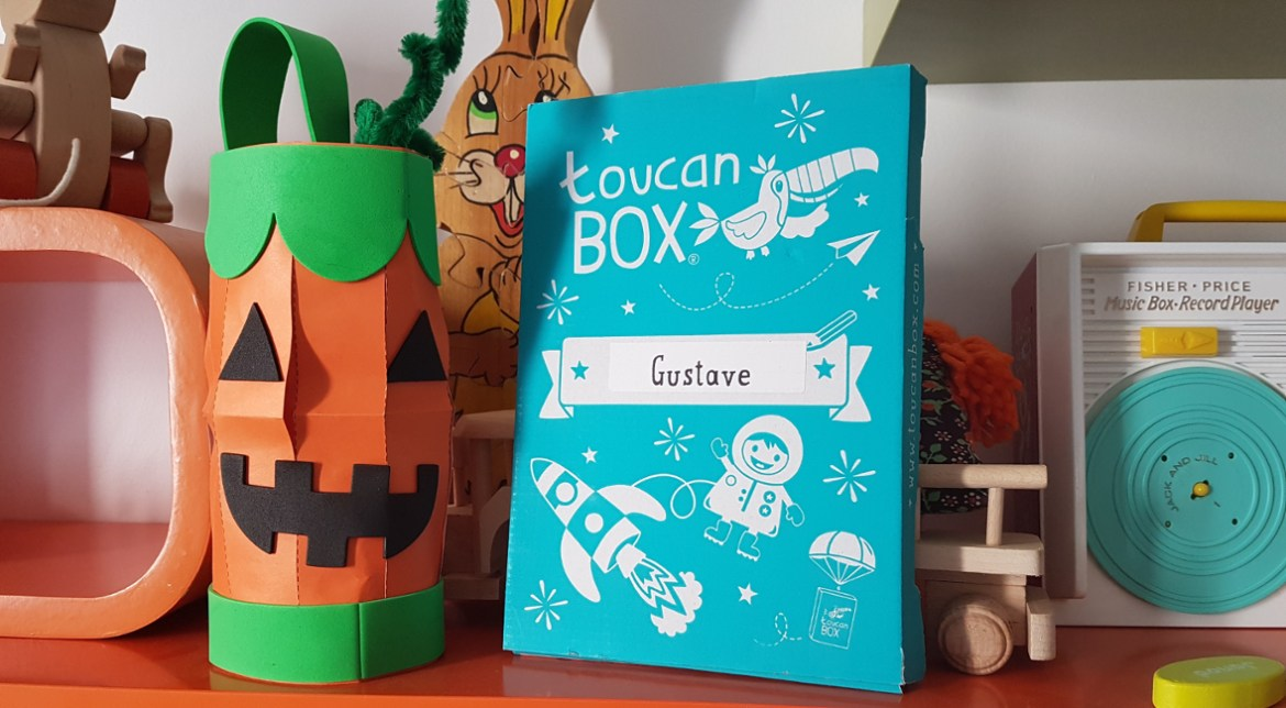 toucan box halloween lanterne citrouille DIY