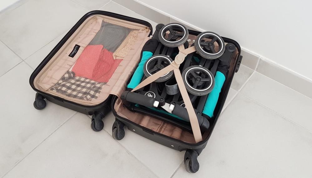poussette ultra compacte GB pock-it pliage valise