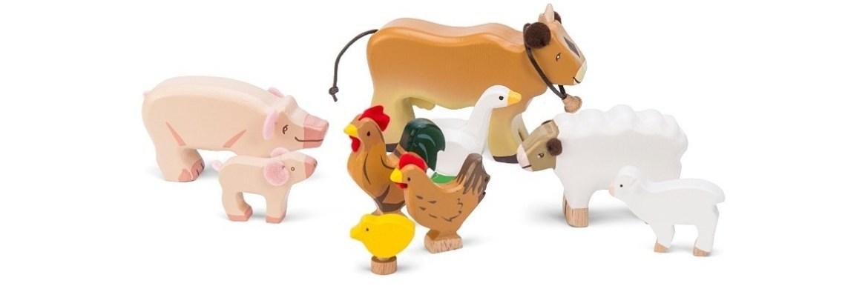 animaux en bois le toy van