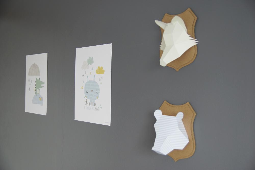 trophées décoration chambre bébé un aprés midi bucolique 6
