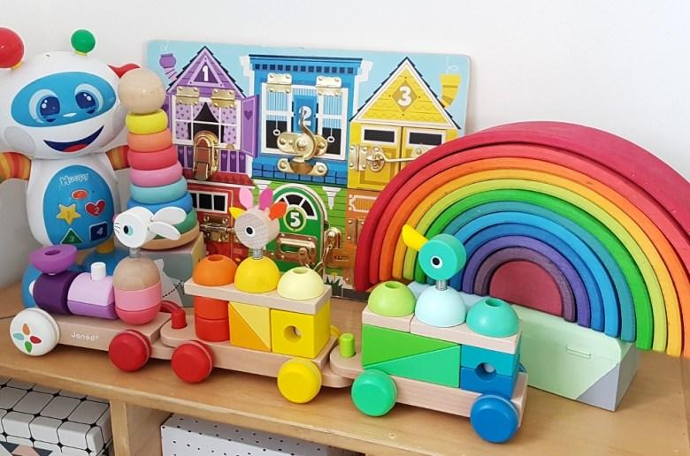 idées cadeaux Noël bébé 18 mois jouets