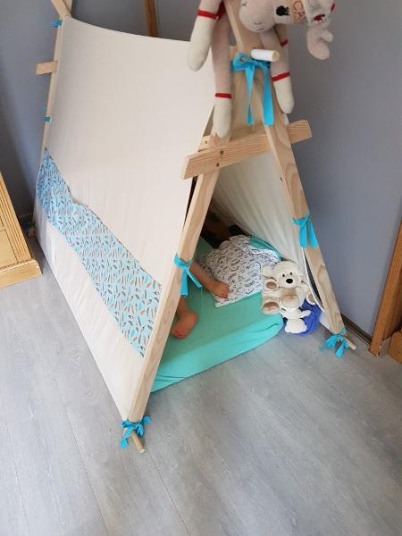 construire un lit tipi soi même diy