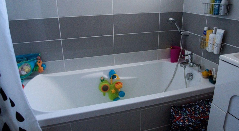 organisation salle de bain enfants