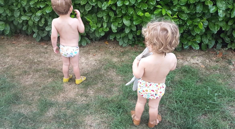 propreté bébé jumeaux acquisition apprentissage