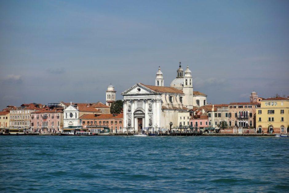 Eglise Dei Gesuati vue depuis Giudecca