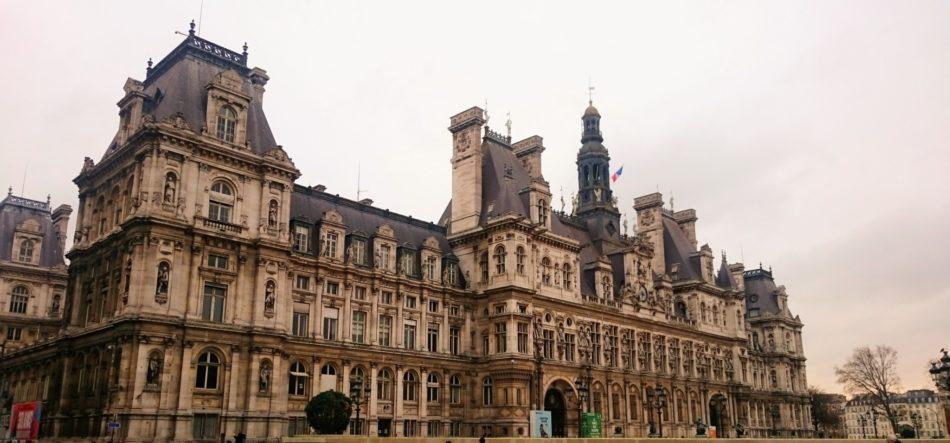 L'hotel de ville de Paris