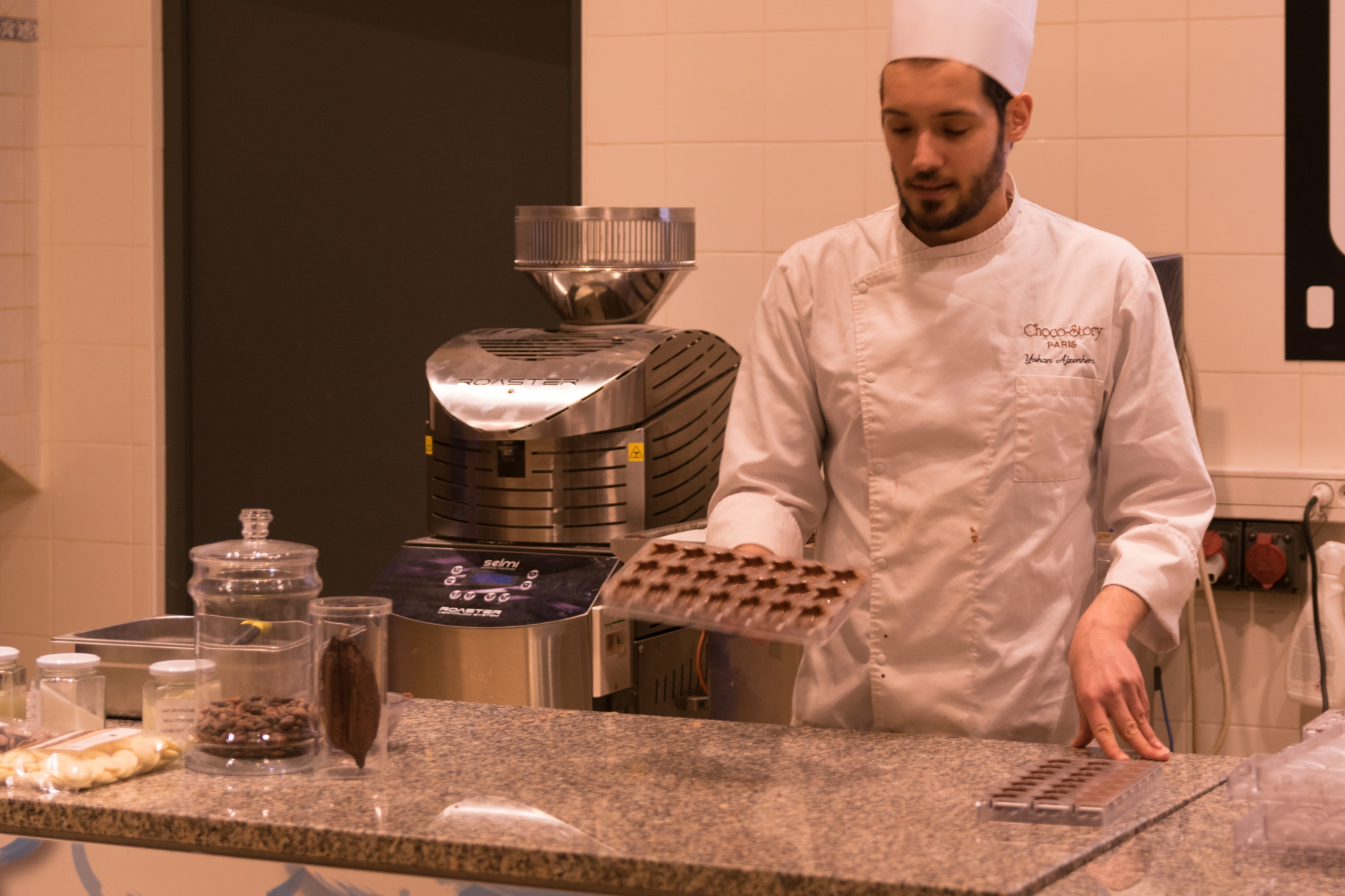 Atelier au musée du chocolat