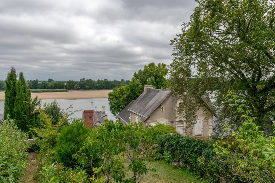 Vue sur la Loire au Thoureil