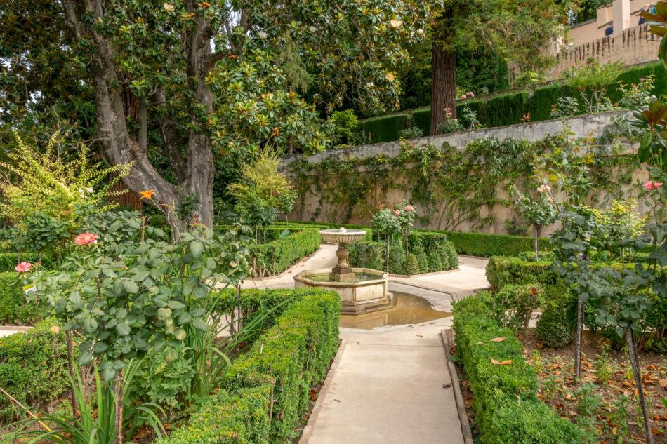 Les jardins du Generalife Grenade