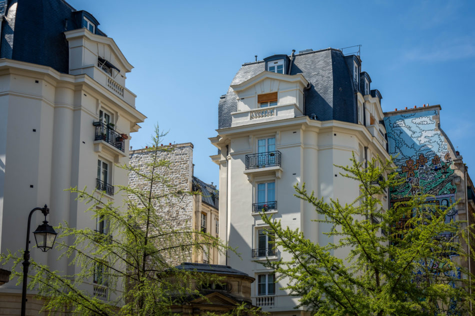 Immeuble rue des Haudriettes