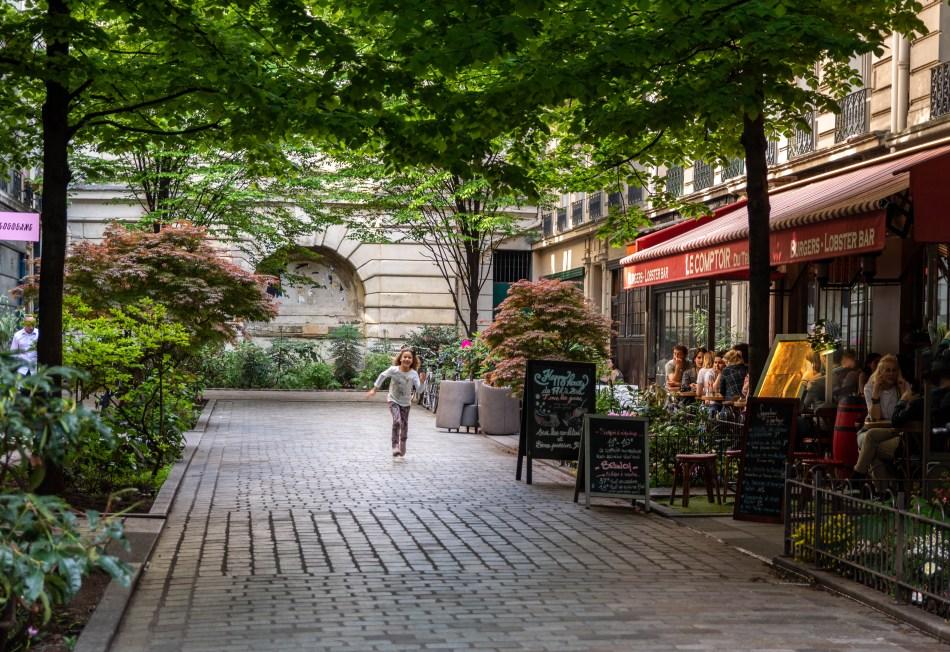 Rue du Tresor Marais Paris