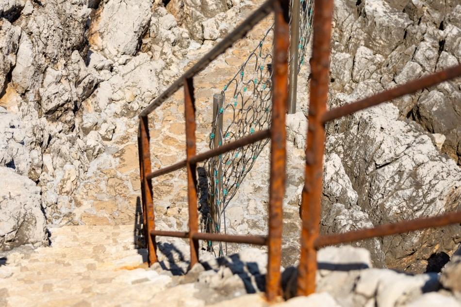 escalier Cap d'Antibes