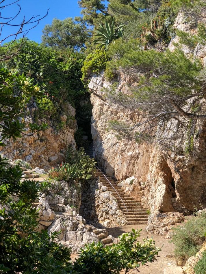 falaise Cap d'Antibes