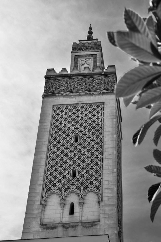 Minaret de la Grande Mosquée de Paris