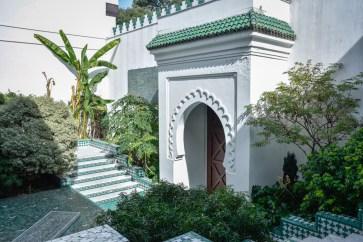 Patio extérieur de la Grande Mosquée de Paris