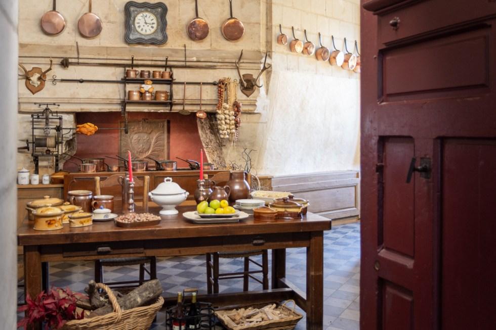 cuisine du château