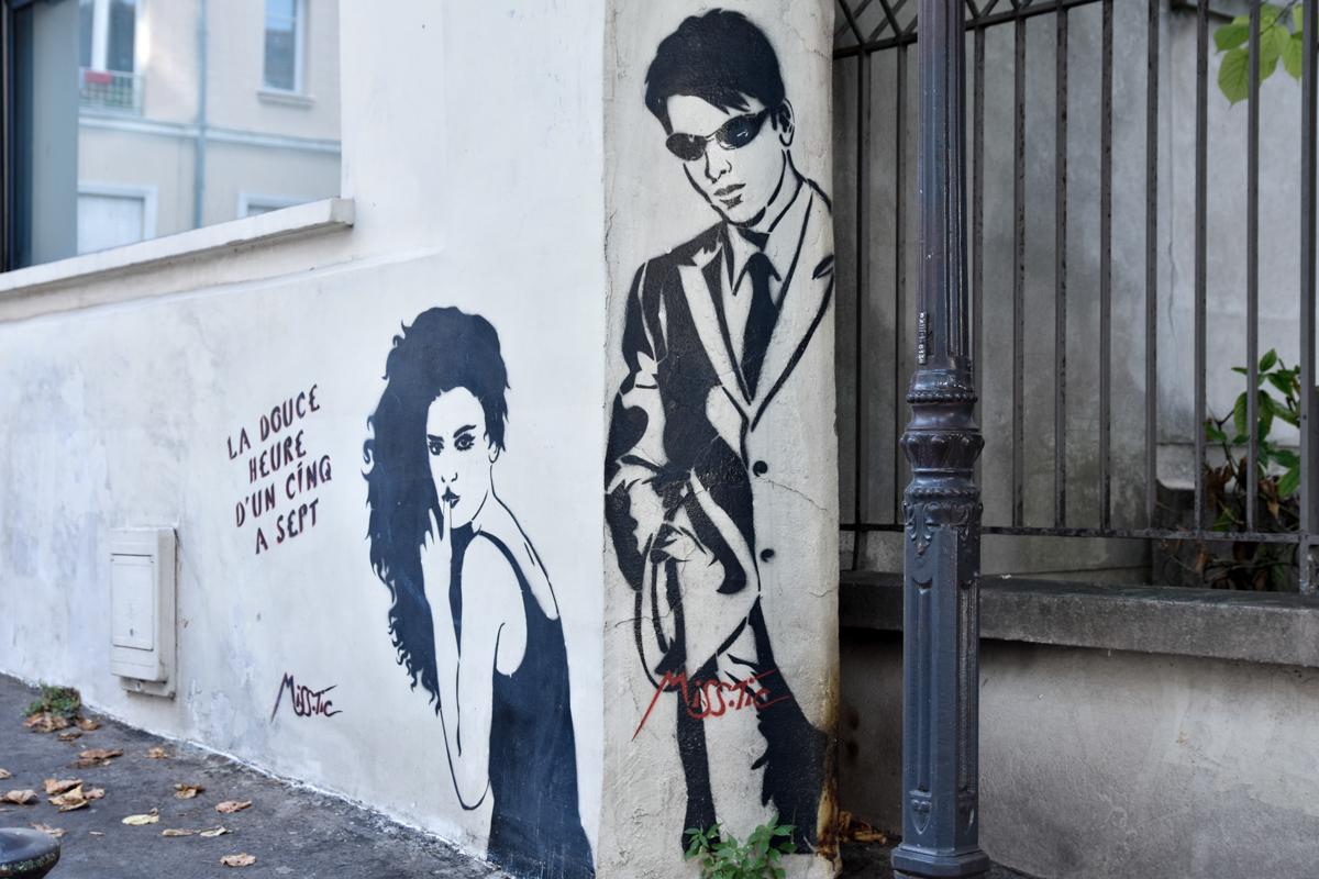 Miss-Tic Street art