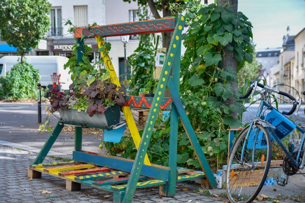 Butte-aux-Cailles jardinets