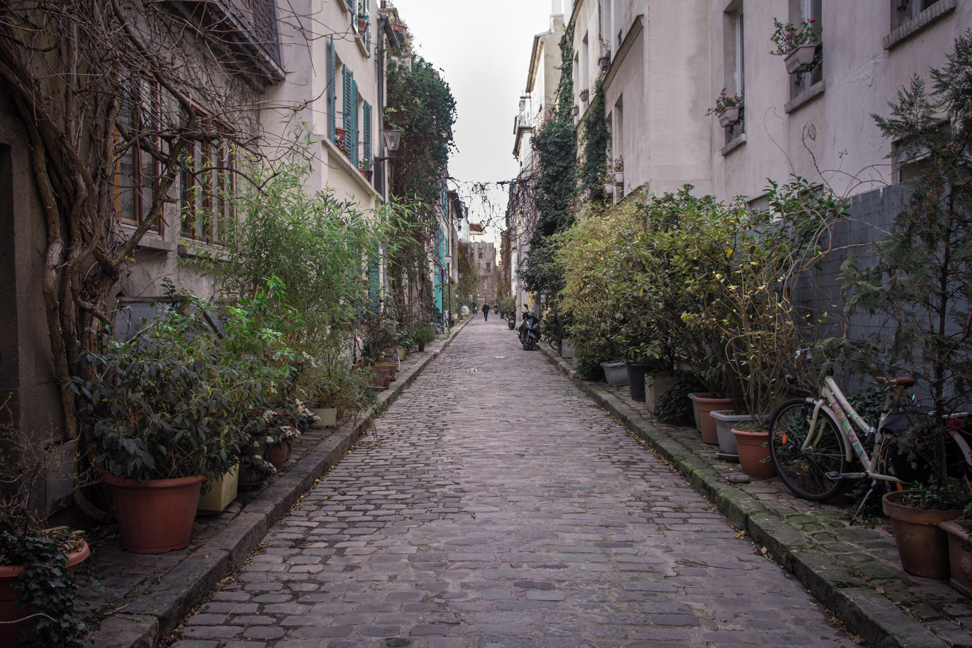 Petite rues de Paris