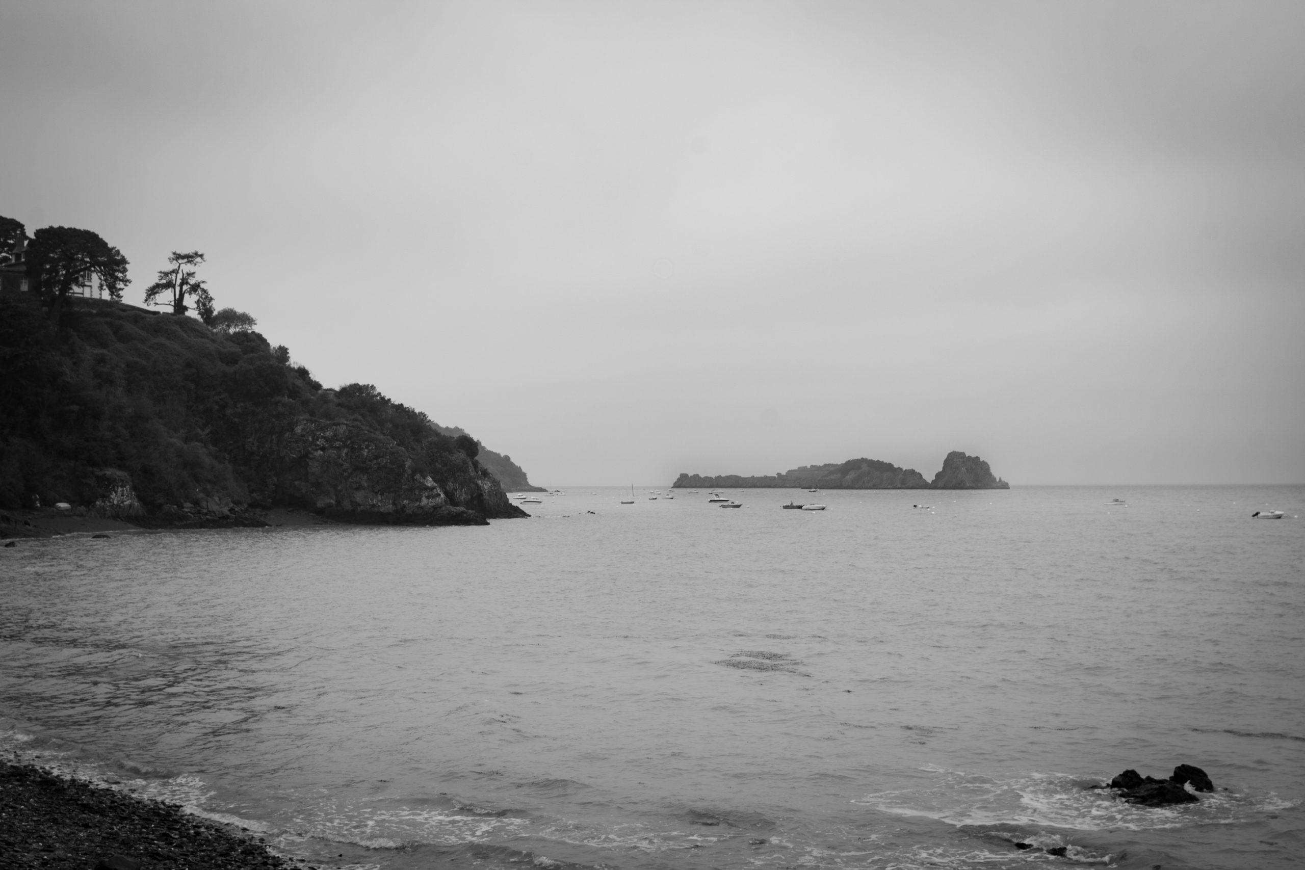 mer et rocher