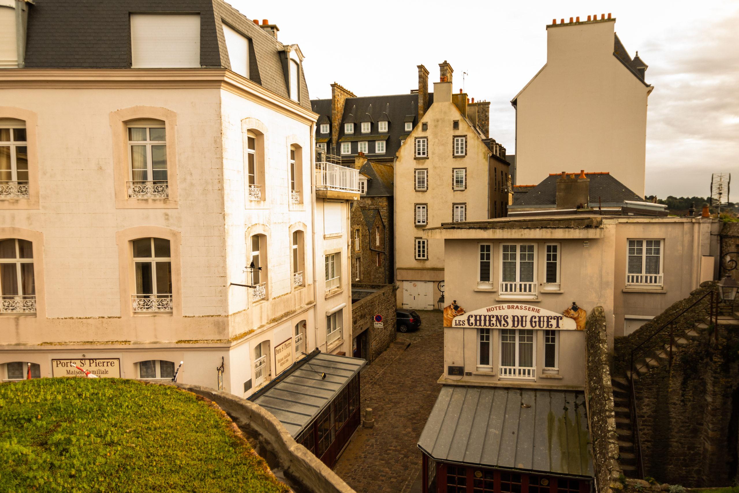 Les maisons de Saint-Malo